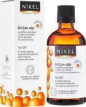 Kup Antycellulitowy olejek z bluszczem - Nikel Ivy Oil