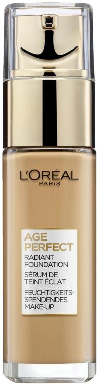 Rozświetlający podkład do twarzy - L'Oréal Paris Age Perfect Radiant Foundation — фото N1