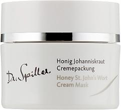 Kup Kremowa maska miodowa do twarzy - Dr. Spiller Honey St.John's Wort Cream Mask