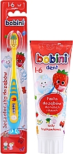 Kup Zestaw - Bobini (toothbrush/1pc + toothpaste/75ml)