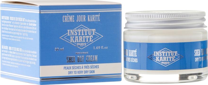 Krem do twarzy na dzień z masłem shea do skóry suchej i bardzo suchej - Institut Karité Shea Day Cream — фото N1