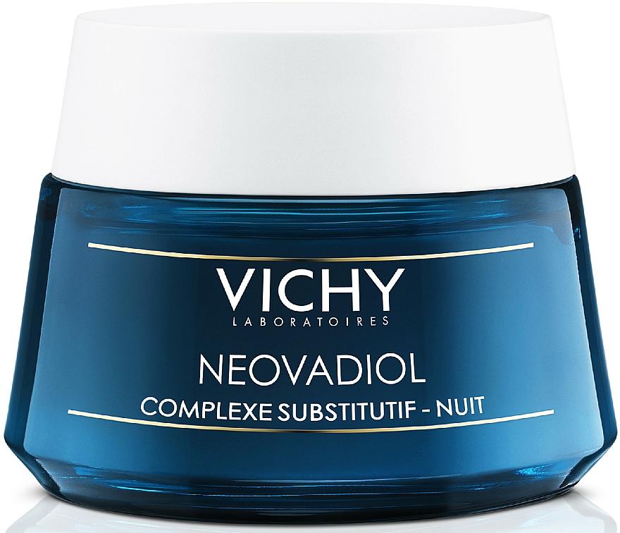 Krem intensywnie odbudowujący na noc do wszystkich typów cery - Vichy Neovadiol Nuit Compensating Complex