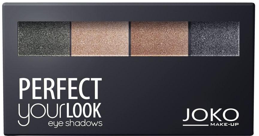 Paletka cieni do powiek - Joko Perfect Your Look Quattro Eye Shadows New