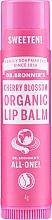 Kup Organiczny balsam do ust z ekstraktem z kwiatu wiśni - Dr. Bronner's All-One! Cherry Blossom Organic Lip Balm