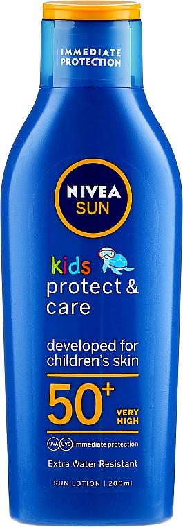 Przeciwsłoneczny balsam dla dzieci SPF 50 - Nivea Sun Care Kids Lotion — фото N5