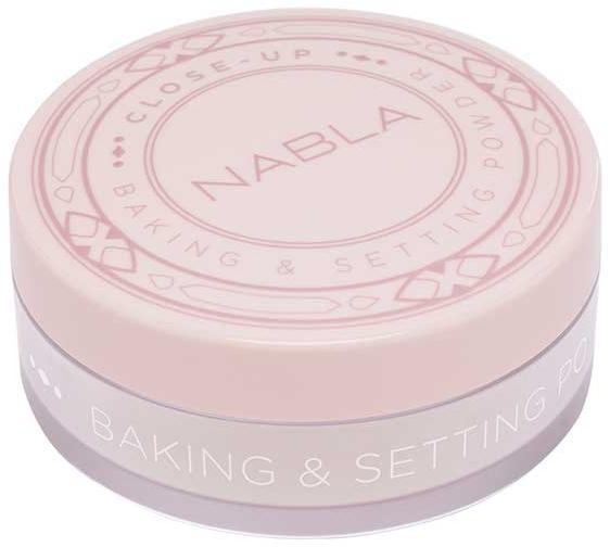 Sypki puder wypiekany - Nabla Close-Up Baking Setting Powder