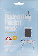 Kup Nawilżająca maska na tkaninie do twarzy - Cettua Hydrating Facial Mask