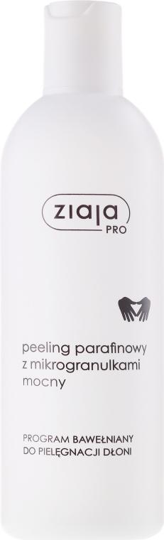 Mocny peeling parafinowy z mikrogranulkami do rąk - Ziaja Pro