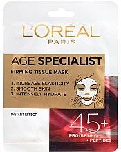 Kup Maska do natychmiastowego wygładzenia skóry - L'Oreal Paris Age Specialist 45+