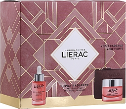 Kup Zestaw - Lierac Supra Radiance (serum/30ml + cr/50ml + bag)