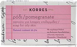 Kup Mydło do cery tłustej z granatem - Korres Pomegranate Soap
