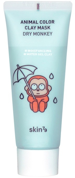 Nawilżająca maska glinkowa do twarzy - Skin79 Animal Color Clay Mask Dry Monkey — фото N1