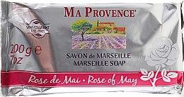 Kup Mydło toaletowe w kostce Kwiat róży - Ma Provence Rose Of May Marseille Soap