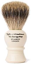 Kup Pędzel do golenia, P2234, beżowy - Taylor of Old Bond Street Shaving Brush Pure Badger size M