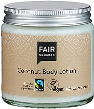 Kup Balsam do ciała, Kokos - Fair Squared Body Lotion Coconut