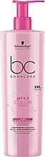 Micelarny szampon do włosów farbowanych - Schwarzkopf Professional Bonacure Color Freeze Rich Micellar Shampoo — фото N3