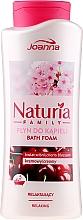 Kup Relaksujący płyn do kąpieli Kwiat wiśni - Joanna Naturia Family