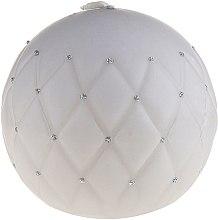 Kup Świeca dekoracyjna, matowa kula, 10 cm, szara - Artman Florence Mat