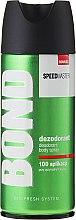 Kup Dezodorant w sprayu dla mężczyzn - Bond Speedmaster Deodorant Body Spray