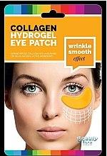 Kup Wygładzające kolagenowe płatki pod oczy ze złotem i kwasem hialuronowym - Beauty Face Collagen Hydrogel Eye Mask