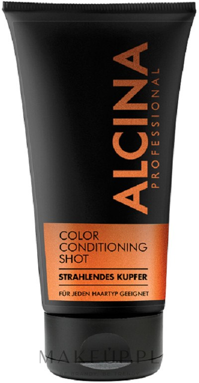 Tonujący balsam do włosów - Alcina Color Conditioning Shot — фото Copper