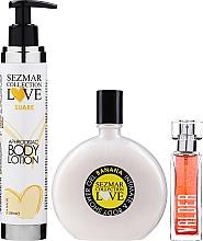 Kup PRZECENA! Sezmar Collection Love - Zestaw (b/lot/200ml + sh/gel/250ml + perfume/30ml)*
