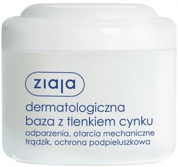 Dermatologiczna baza z tlenkiem cynku - Ziaja