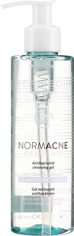 Antybakteryjny żel do mycia skóry tłustej, mieszanej i trądzikowej - Dermedic Normacne Preventi