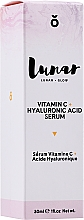 Kup Serum do twarzy Witamina C i kwas hialuronowy - Lunar Glow Vitamin C Hyaluronic Acid Serum