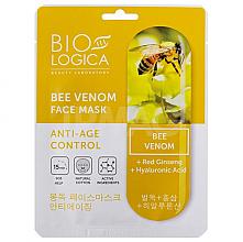 Kup PRZECENA! Maska z jadem pszczelim Przeciwstarzeniowa pielęgnacja - Biologica Bee Venom Face Mask *
