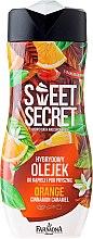 Kup Hybrydowy olejek do kąpieli i pod prysznic Pomarańcza z karmelem i cynamonem - Farmona Sweet Secret