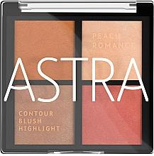 Kup Paleta do konturowania twarzy - Astra Make-up The Romance Palette