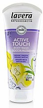 Kup Energetyzujący żel pod prysznic Imbir i Matcha - Lavera Body Wash Active Touch Ginger & Matcha Body Wash