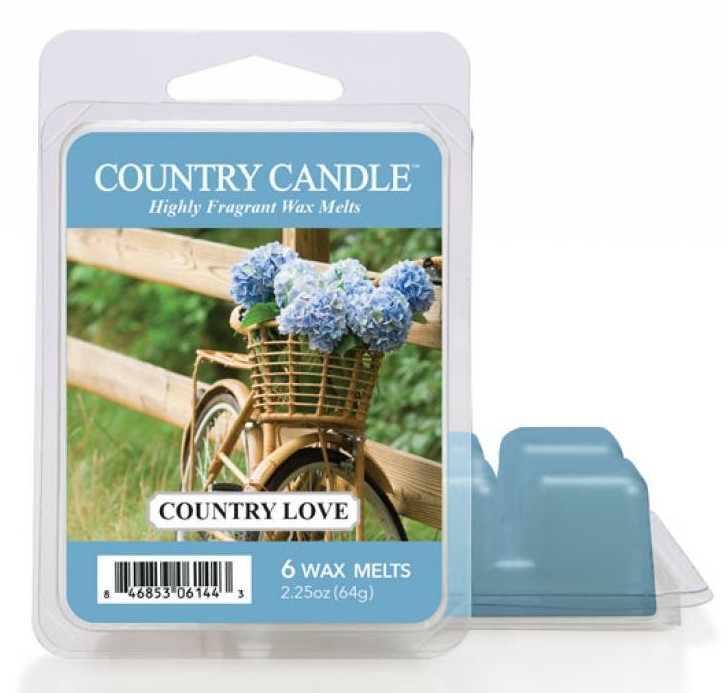 Wosk zapachowy - Country Candle Country Love Wax Melts — фото N1
