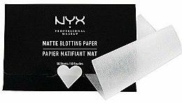 Kup Bibułki matujące Matte Blotting - NYX Professional Makeup Blotting Paper