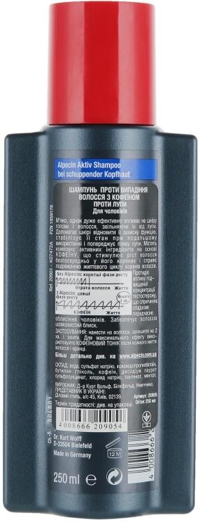 Przeciwłupieżowy szampon zapobiegający wypadaniu włosów - Alpecin A3 Anti Dandruff — фото N2