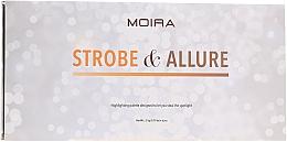 Kup Paleta rozświetlaczy do twarzy - Moira Strobe & Allure Highlighting Palette