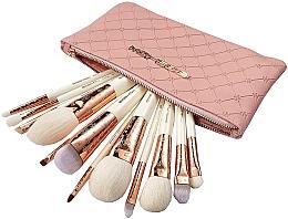 Kup Zestaw pędzli do makijażu, 12 szt. - Eigshow Luxe Series Classic Makeup Brush Kit Rose Gold