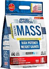 Kup Suplement diety dla sportowców Truskawka - Applied Nutrition Critical Mass High Potency Weight Gainer Strawberry