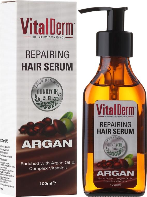 Naprawcze serum do włosów Argan - VitalDerm Argana