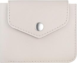 """Kup Beżowy portfel w pudełku prezentowym """"Classy"""" - Makeup Bi-Fold Wallet Beige"""