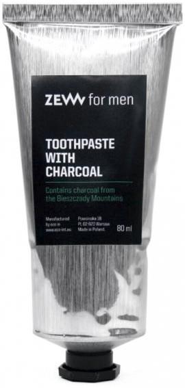 Węglowa wybielająca pasta do zębów dla mężczyzn - Zew For Men — фото N1