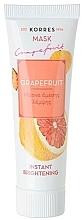 Kup Rozświetlająca maska do twarzy Grejpfrut - Korres Grapefruit Instant Brightening Mask