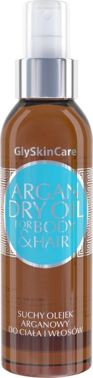 Suchy olejek arganowy do ciała i włosów - GlySkinCare Argan Dry Oil For Body & Hair