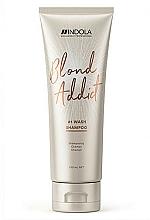 Kup Szampon do chłodnych odcieni blondu - Indola Blond Addict Shampoo