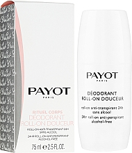 Kup Bezalkoholowy dezodorant w kulce - Payot Le Corps Déodorant Ultra Douceur 24h Roll-On