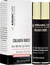 Kup Przeciwzmarszczkowe serum pod oczy - Arganicare Collagen Boost Anti Wrinkle Eye Serum