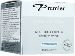 Kup Nawilżający krem-kompleks do skóry normalnej i suchej - Premier Dead Sea Moisture Cream Complex Normal to Dry Skin