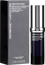 Kup Serum regenerujące skórę wokół oczu na noc - Germaine de Capuccini Timexpert SRNS Repair Night Progress Eye