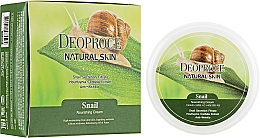 Kup Krem do twarzy i ciała z ekstraktem ze śluzu ślimaka - Deoproce Natural Skin Snail Nourishing Cream